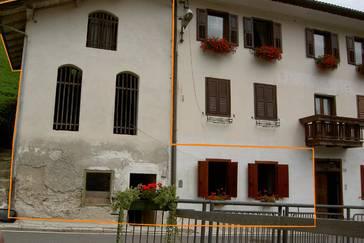 Porzione indipendente da ristrutturare a Ronco Chiesa