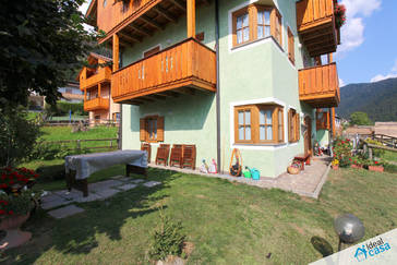 Appartamento a piano terra con giardino